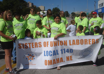 Sisters Of Union Laborers Soul Marched With Liuna 1140 In The